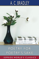 Poetry for Poetry's Sake (Esprios Classics)