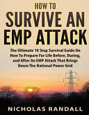 How to Survive an Emp Attack