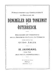 Mehrfach besetzte Instrumentalwerke: zwei Kirchensonaten und zwei Ouverturen (Suiten)