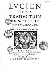 Lucien, de la traduction de N. Perrot Sr d'Ablancourt
