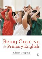 Being Creative in Primary English PDF