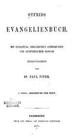 Evangelienbuch: Band 1