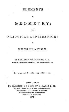 Elements of Geometry PDF