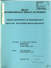 VA-168 Battlefield Boulevard South, Construction Between Peaceful Road and North Carolina State Line: Environmental Impact Statement