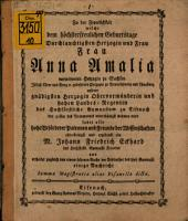 Nachricht von der Summa Magistrutia, alias Pisanella dicta