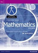 Pearson Baccalaureate Standard Level Mathematics 2012