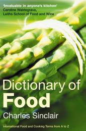 Dictionary of Food