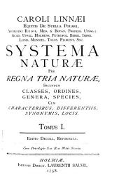 Caroli Linnaei Systema naturae: Regnum animale