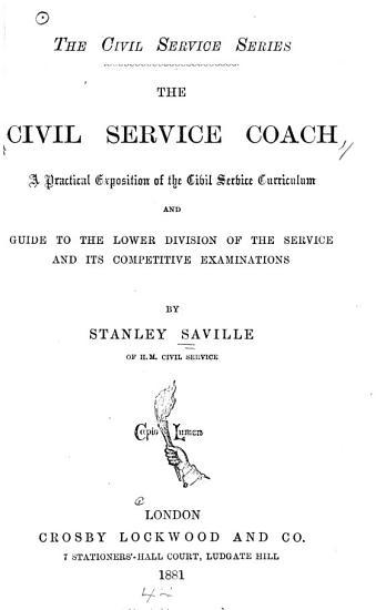 The Civil Service Coach PDF