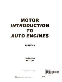 Introduction to Auto Engines PDF