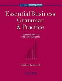 Essential Business Grammar & Practice