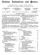 Indian Industries and Power PDF