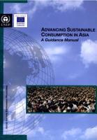 Advancing Sustainable Consumption in Asia PDF