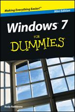 Windows 7 For Dummies    Mini Edition PDF