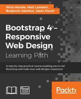 Bootstrap 4     Responsive Web Design PDF