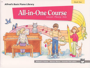 Alfred's Basic All-in-One Course, Book 1