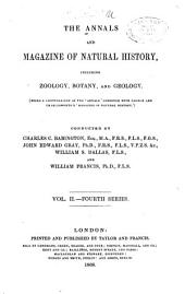 The Annals and Magazine of Natural History: Zoology, Botany, and Geology, Volume 2