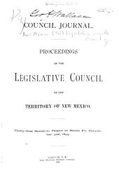 Council Journal; Proceedings