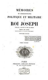 Mémoires et correspondance politique et militaire: Volume6