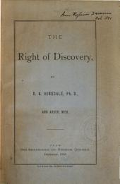 The Right of Discovery