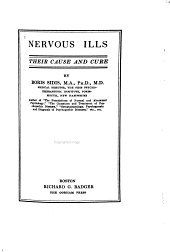 Nervous Ills: Their Cause and Cure
