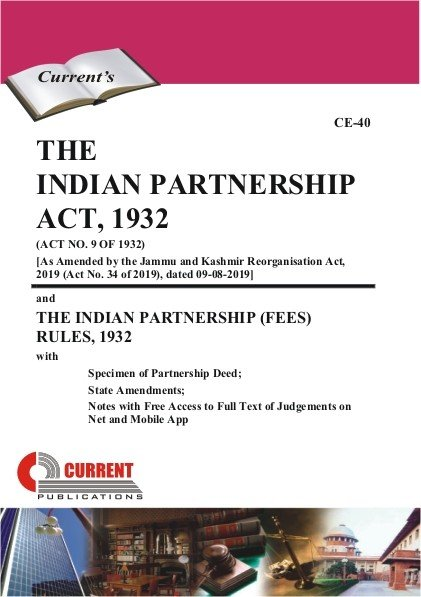 Download The Indian Partnership Act  1932 Book