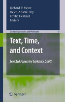 Text  Time  and Context PDF