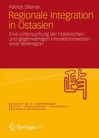 Regionale Integration in Ostasien PDF