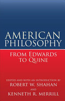 American Philosophy from Edwards to Quine