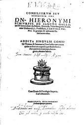 Consiliorum seu responsorum iuris Centuria uno