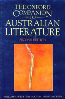 The Oxford Companion to Australian Literature PDF