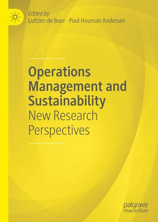 Operations Management and Sustainability PDF