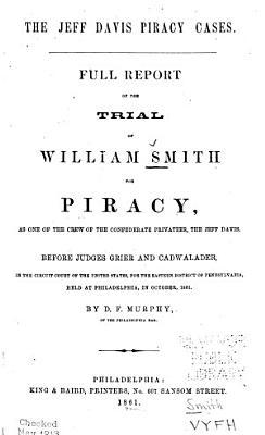 The Jeff Davis Piracy Cases PDF