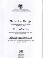 Estupefacientes : Previsiones de Las Necesidades Mundiales Para 2002. Estadísticas de 2000