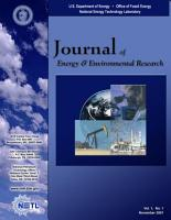 Journal of Energy   Environmental Research  Vol  1  No  1 PDF