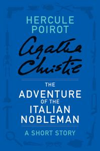 The Adventure of the Italian Nobleman Book