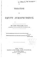 A Treatise on Equity Jurisprudence PDF