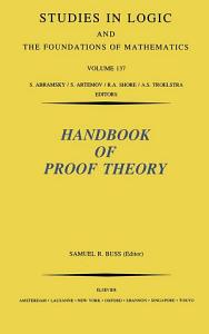 Handbook of Proof Theory