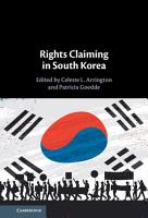 Rights Claiming in South Korea PDF