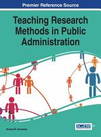 Teaching Research Methods in Public Administration PDF