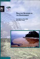 Reactive Nitrogen in the Environment PDF