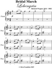 Bridal March Lohengrin Easy Piano Sheet Music