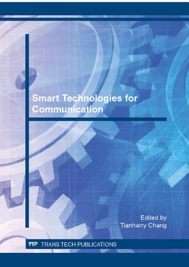 Smart Technologies for Communication PDF