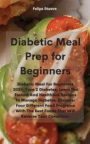 Diabetic Meal Prep Cookbook