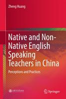 Native and Non Native English Speaking Teachers in China PDF