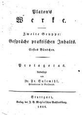 Platon's Werke: Phaidros oder vom Schönen