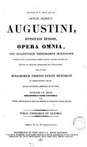 Sancti Aurelii Augustini, Hipponensis Episcopi, opera omnia: Volume 15