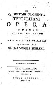 Opera: Volume 6