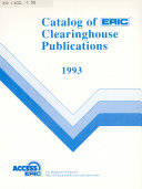 Catalog of ERIC Clearinghouse Publications PDF