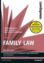 Law Express: Family Law (Revision Guide): Edition 5